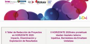 II Taller de redacción de proyectos en H2020